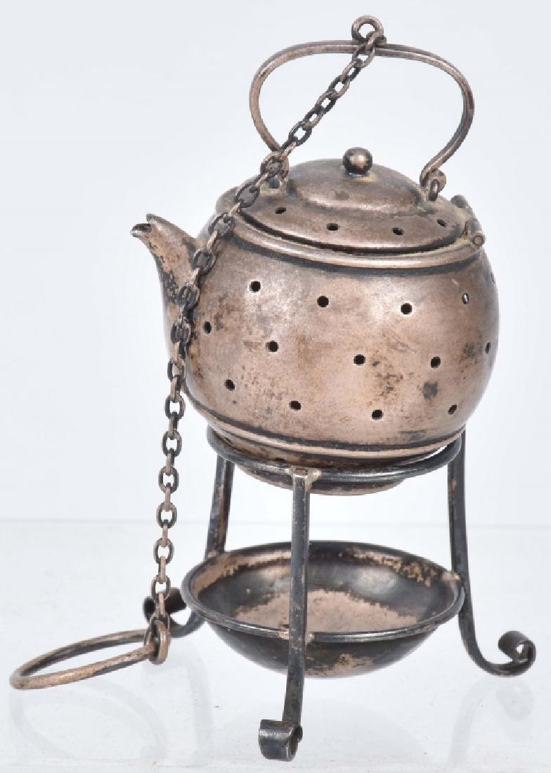 STERLING SILVER TEA INFUSER, PAT 1909