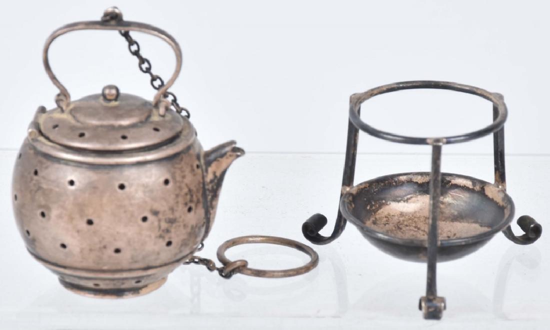 STERLING SILVER TEA INFUSER, PAT 1909 - 2