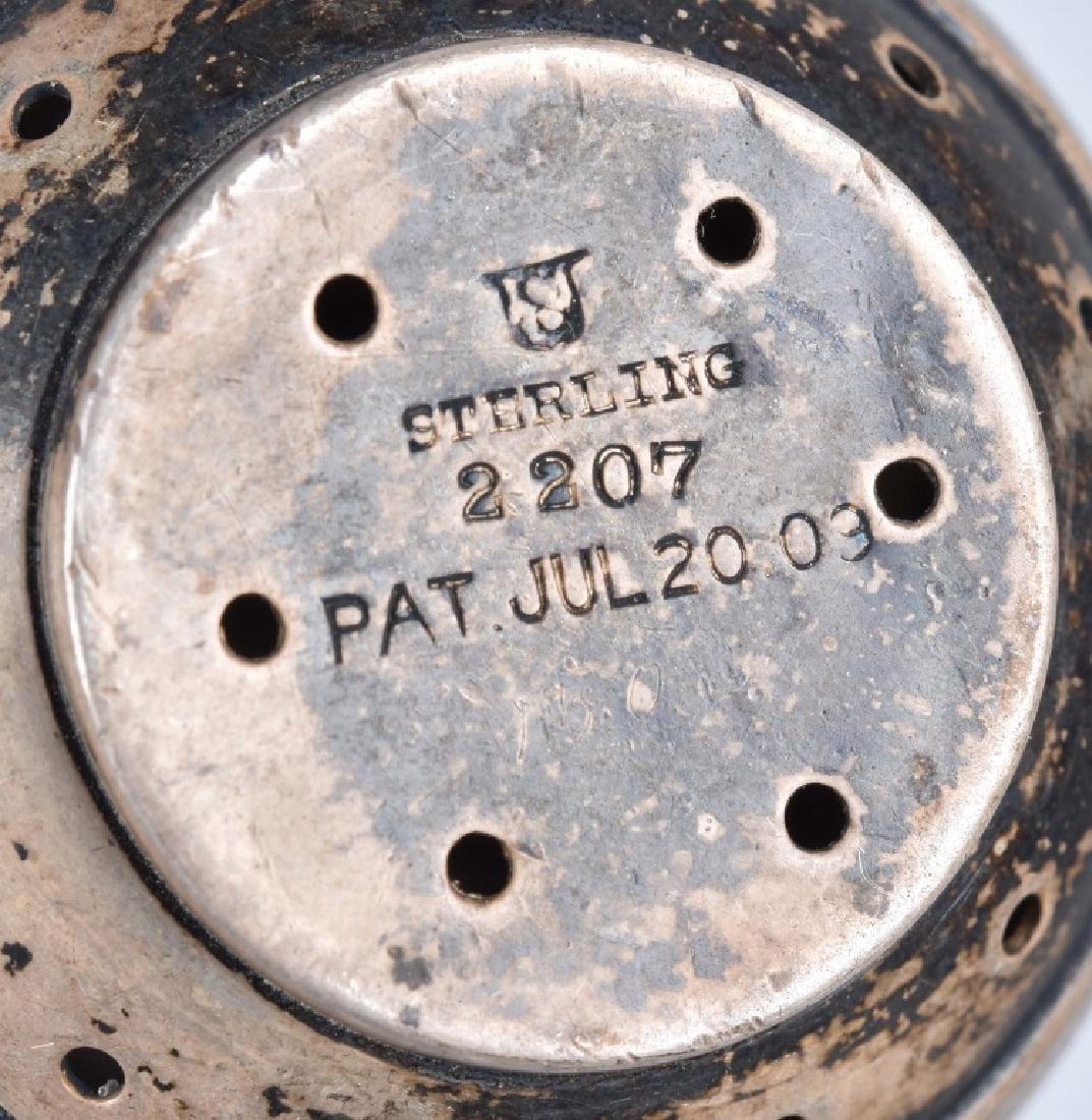 STERLING SILVER TEA INFUSER, PAT 1909 - 3