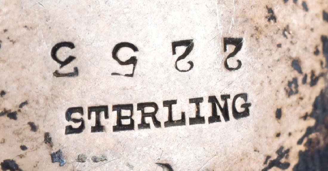 STERLING SILVER TEA INFUSER, PAT 1909 - 4