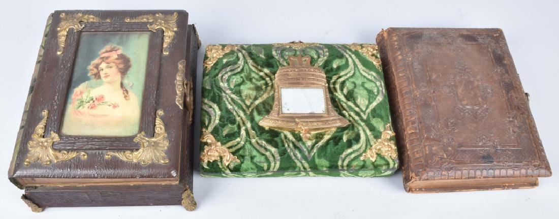 2-VICTORIAN MUSICAL PHOTO ALBUMS & MORE