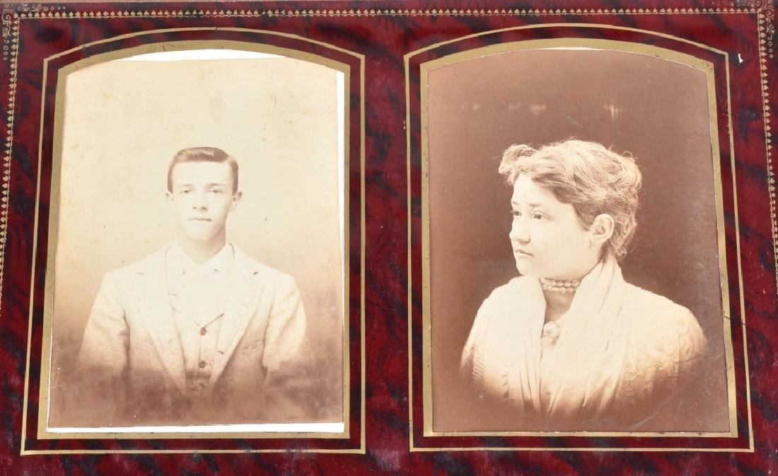 2-VICTORIAN MUSICAL PHOTO ALBUMS & MORE - 6