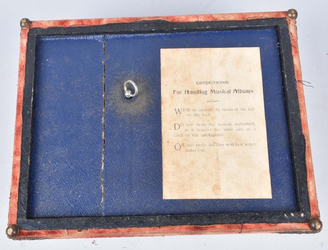 2-VICTORIAN CHRISTMAS MUSICAL PHOTO ALBUMS - 2