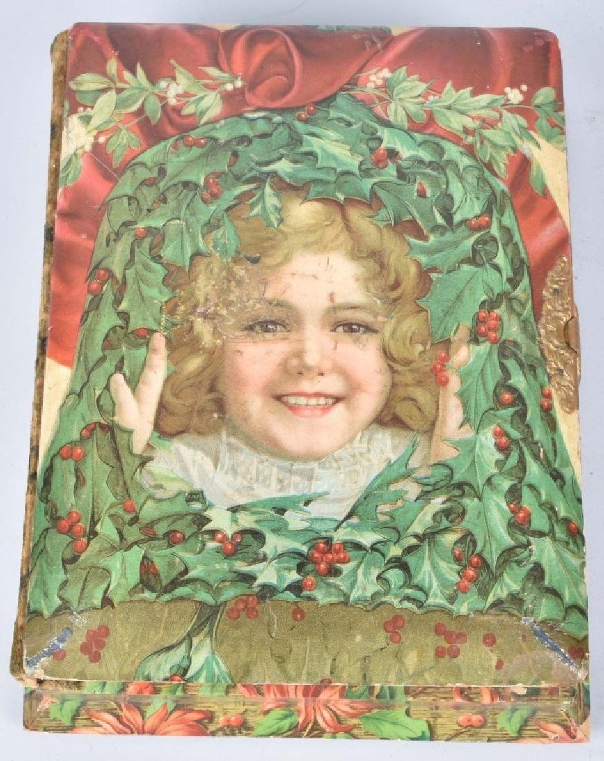 2-VICTORIAN CHRISTMAS MUSICAL PHOTO ALBUMS - 3