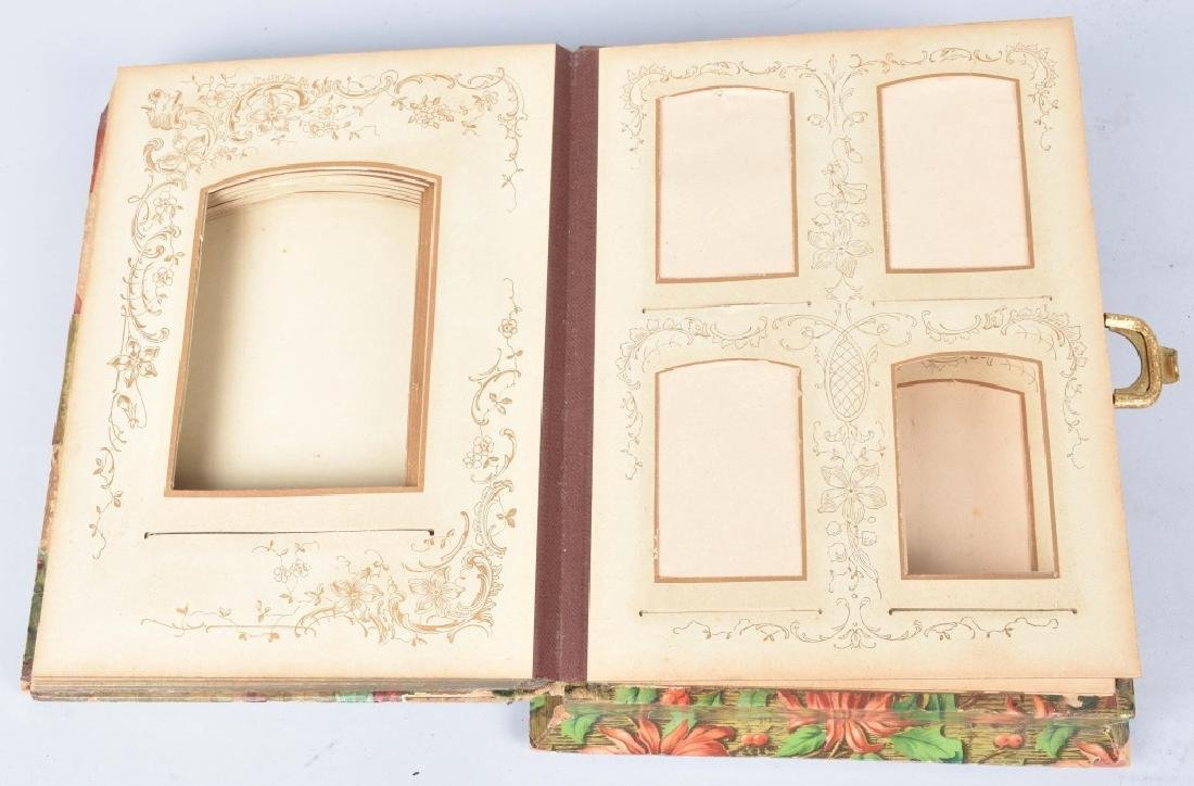2-VICTORIAN CHRISTMAS MUSICAL PHOTO ALBUMS - 4