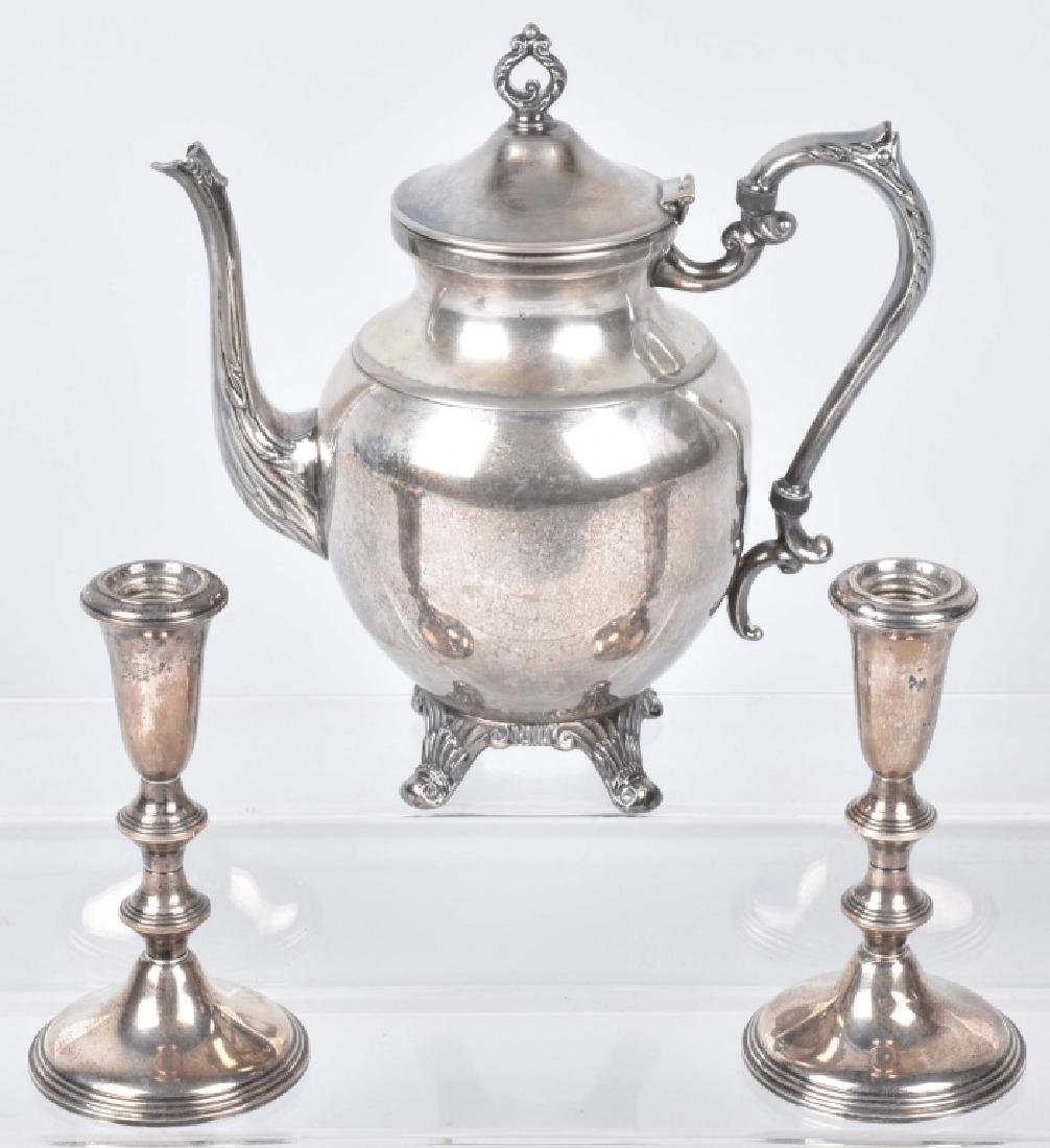 STERLING SILVER CANDLE STICKS and MORE