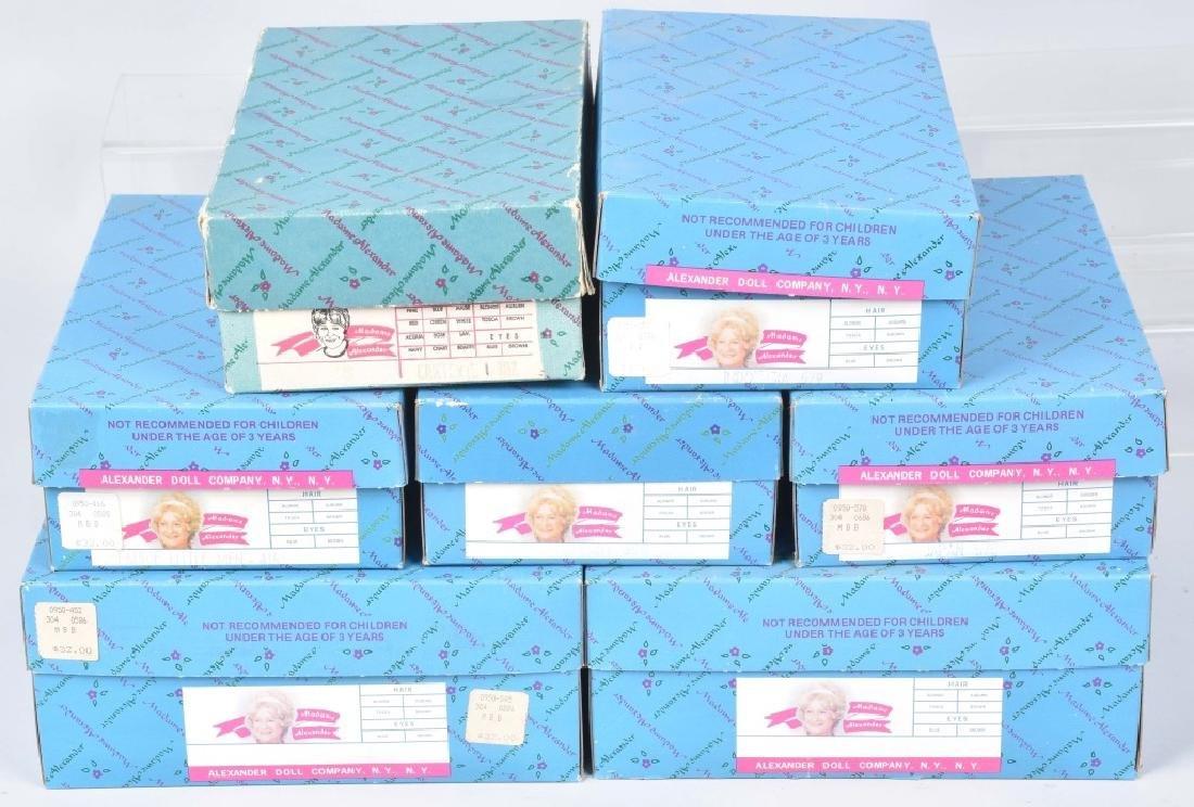 7-MADAME ALEXANDER DOLLS, BOXED - 2