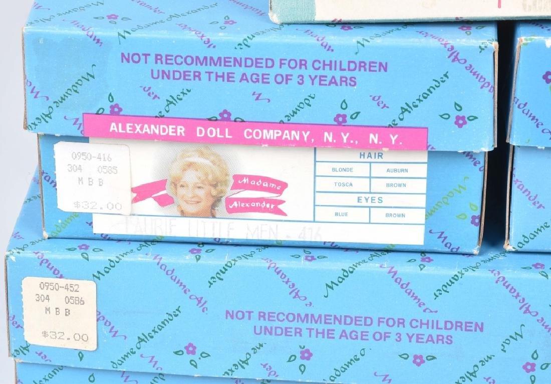 7-MADAME ALEXANDER DOLLS, BOXED - 3