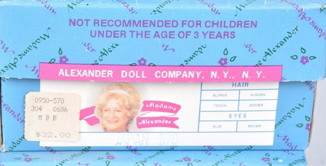 7-MADAME ALEXANDER DOLLS, BOXED - 4