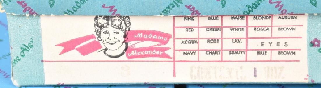 7-MADAME ALEXANDER DOLLS, BOXED - 6
