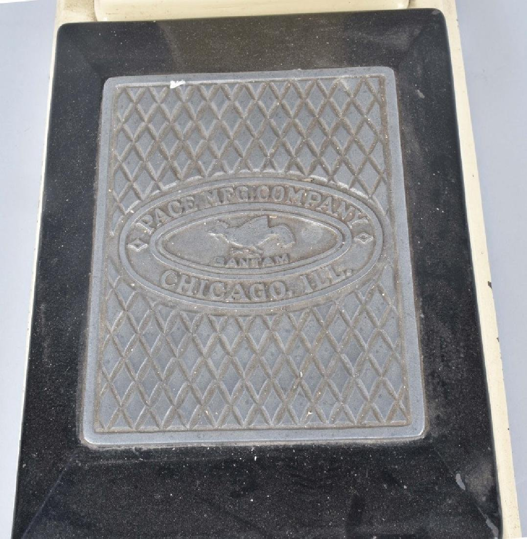 PACE MFG CO. CAST IRON 1 CENT COIN OP SCALE - 4
