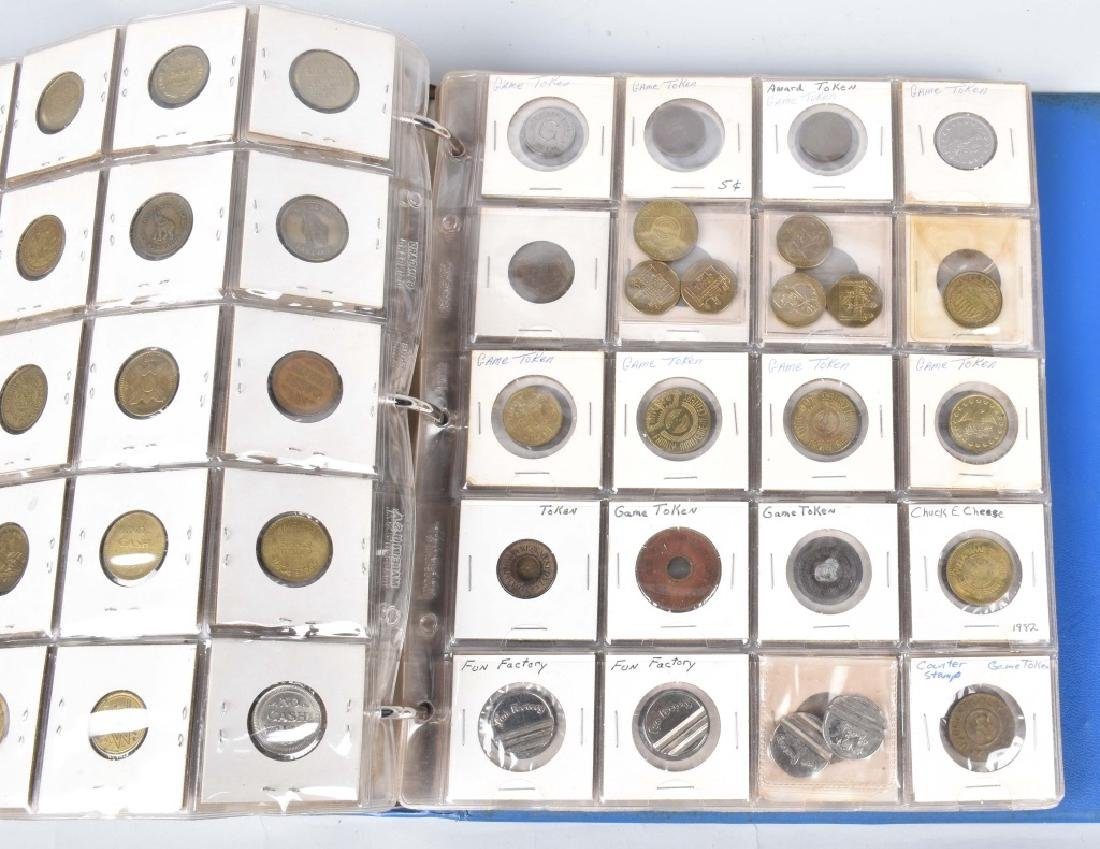 200+ VINTAGE GAME TOKENS - 11