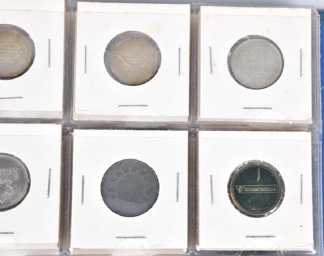 200+ VINTAGE GAME TOKENS - 3