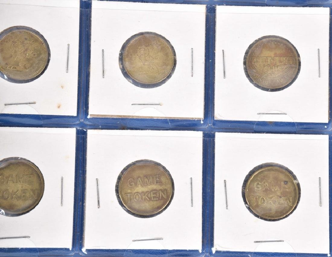 200+ VINTAGE GAME TOKENS - 5