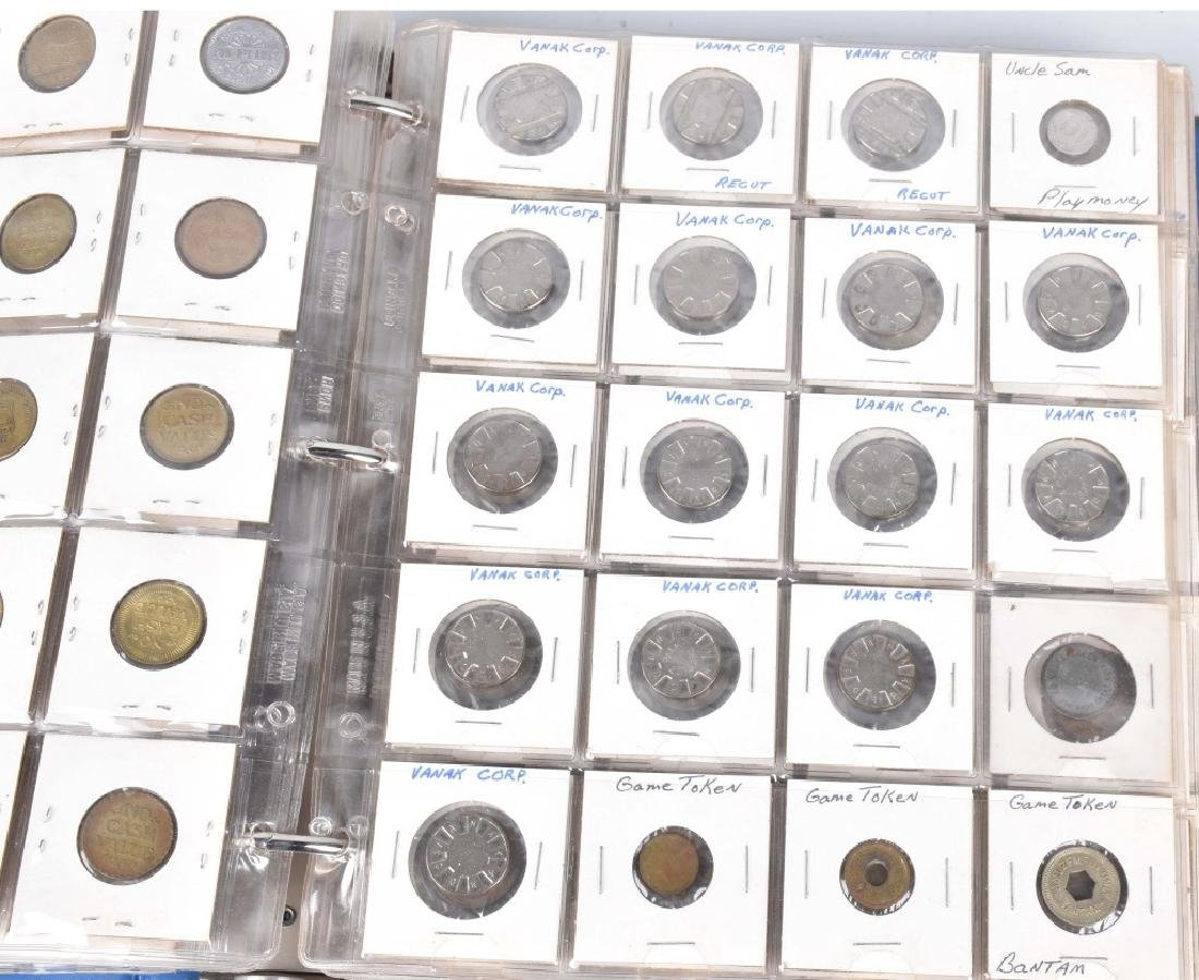 200+ VINTAGE GAME TOKENS - 6