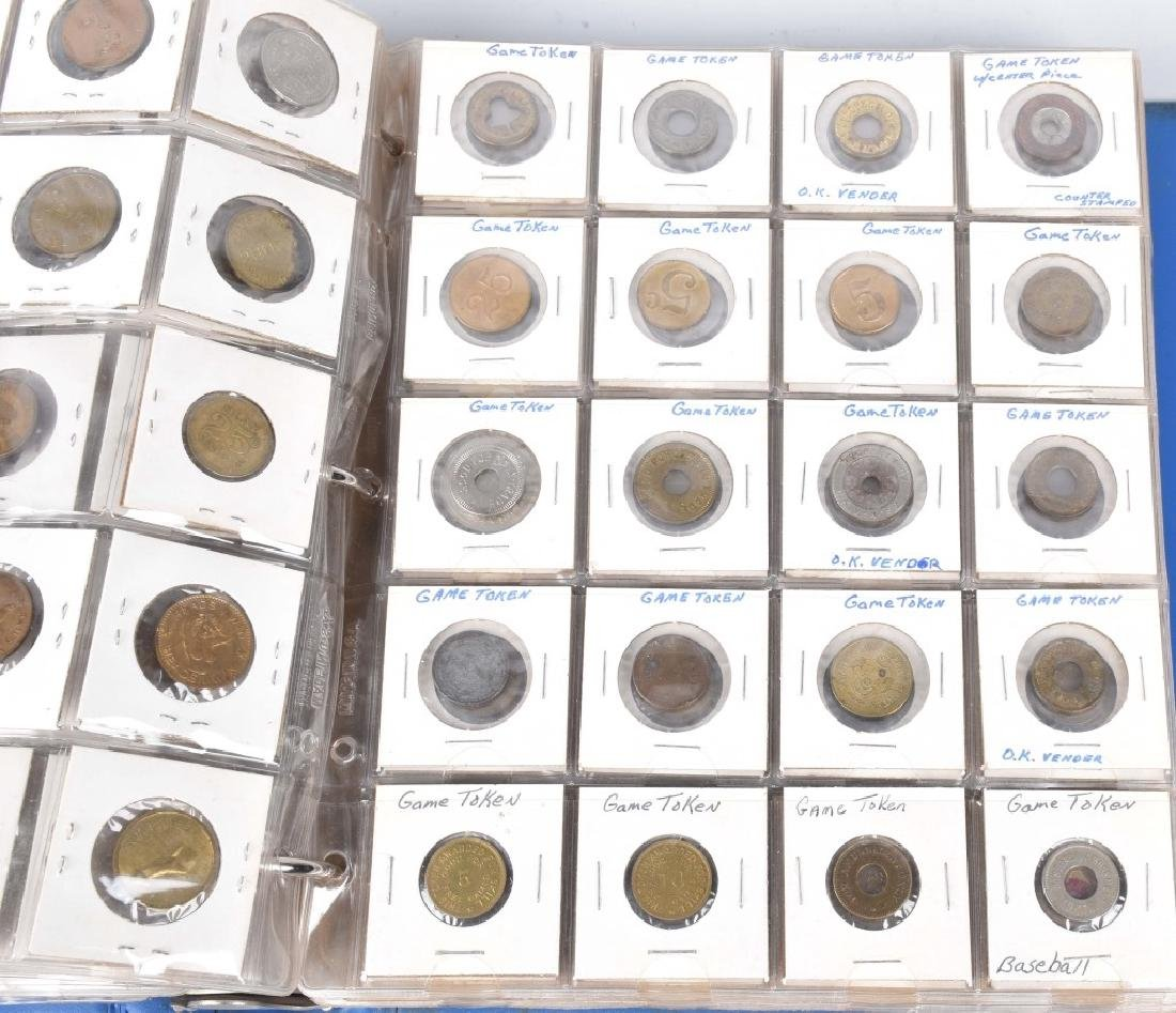 200+ VINTAGE GAME TOKENS - 7