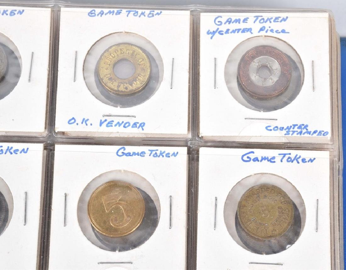 200+ VINTAGE GAME TOKENS - 8