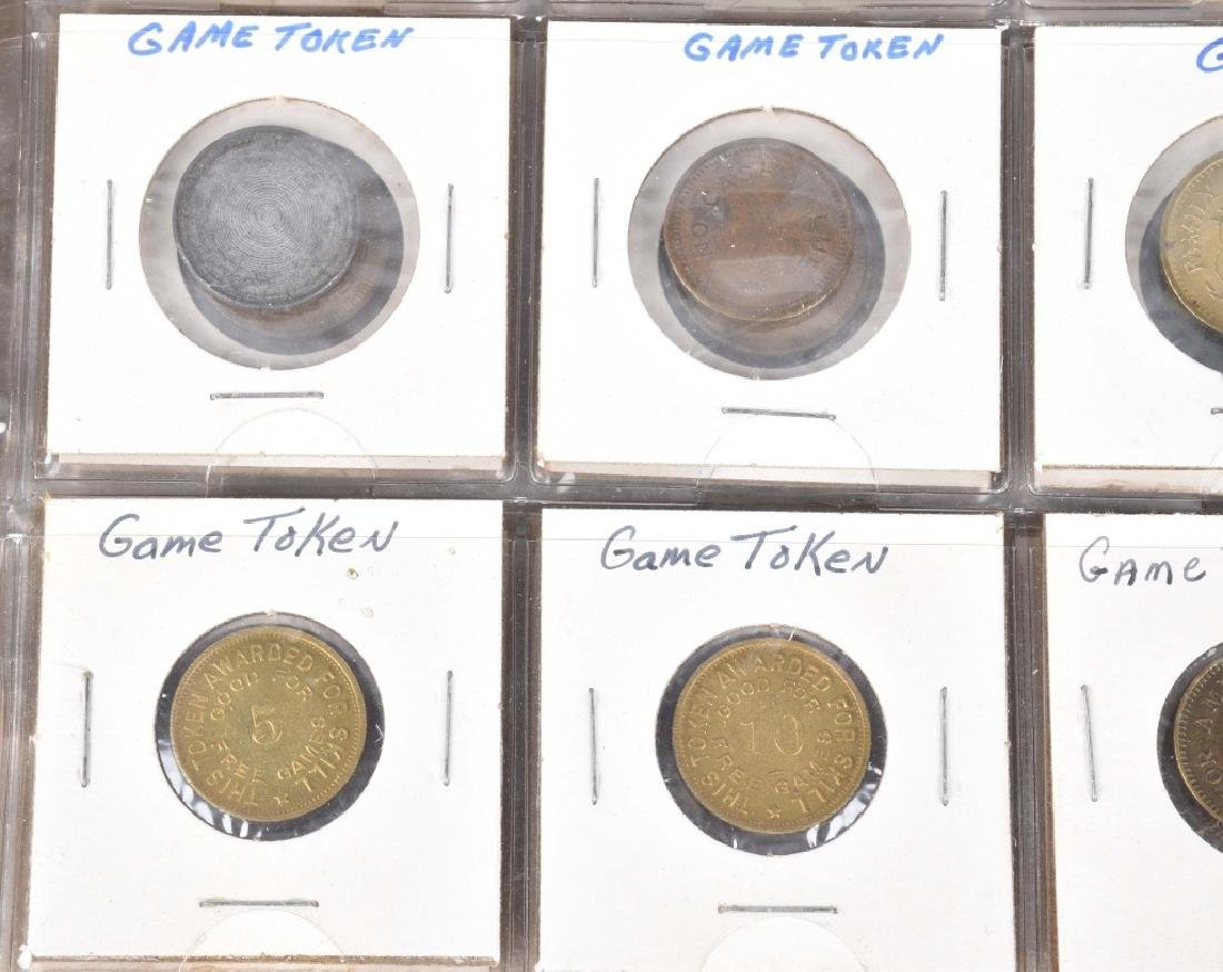 200+ VINTAGE GAME TOKENS - 9