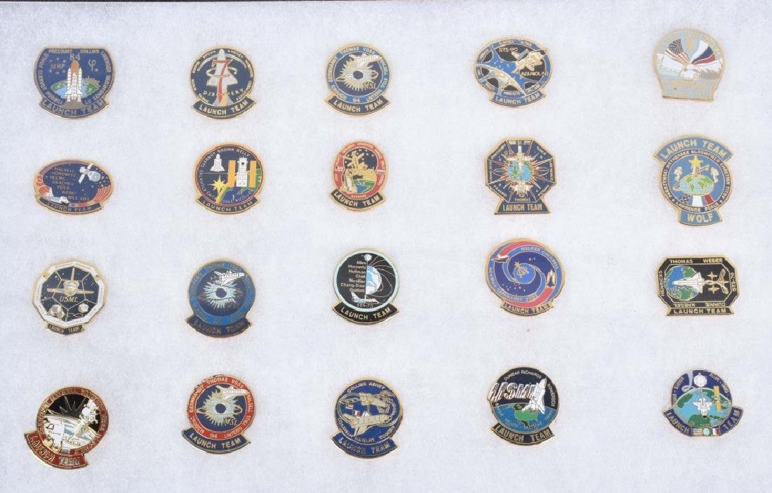 NASA LAUNCH TEAM PINS, MEDALS and MORE - 4