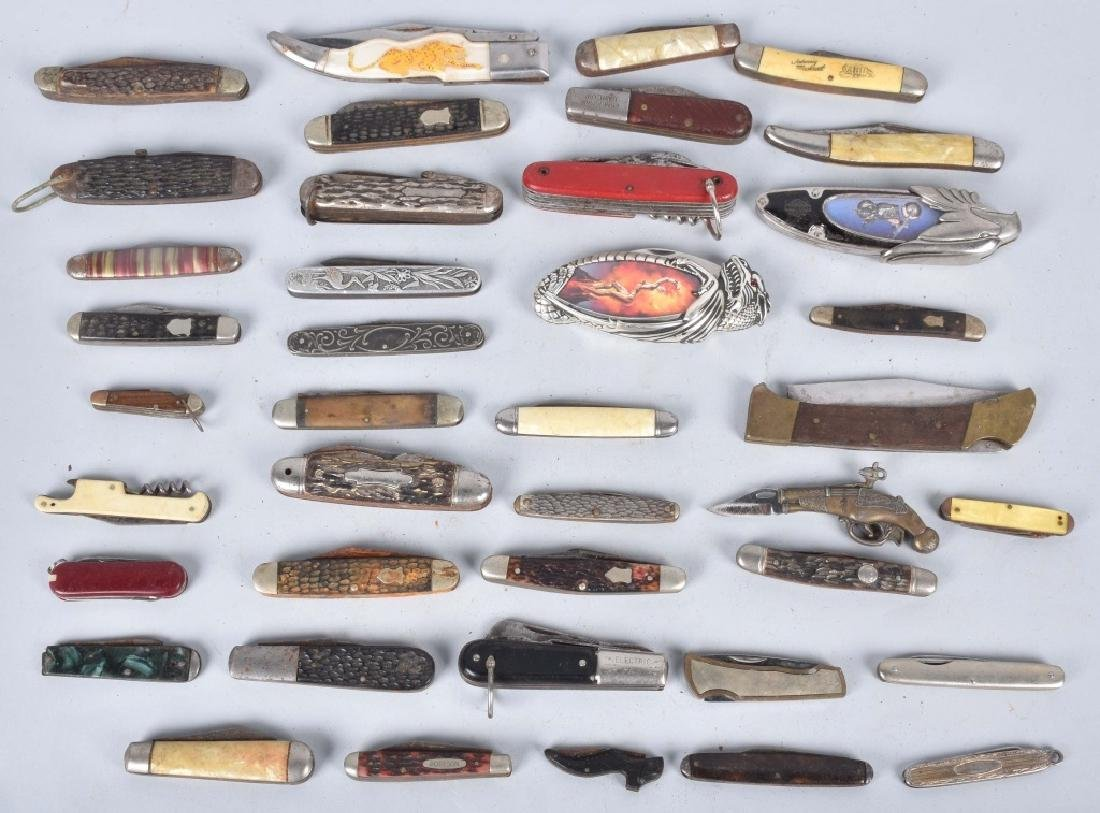 40-POCKET KNIVES