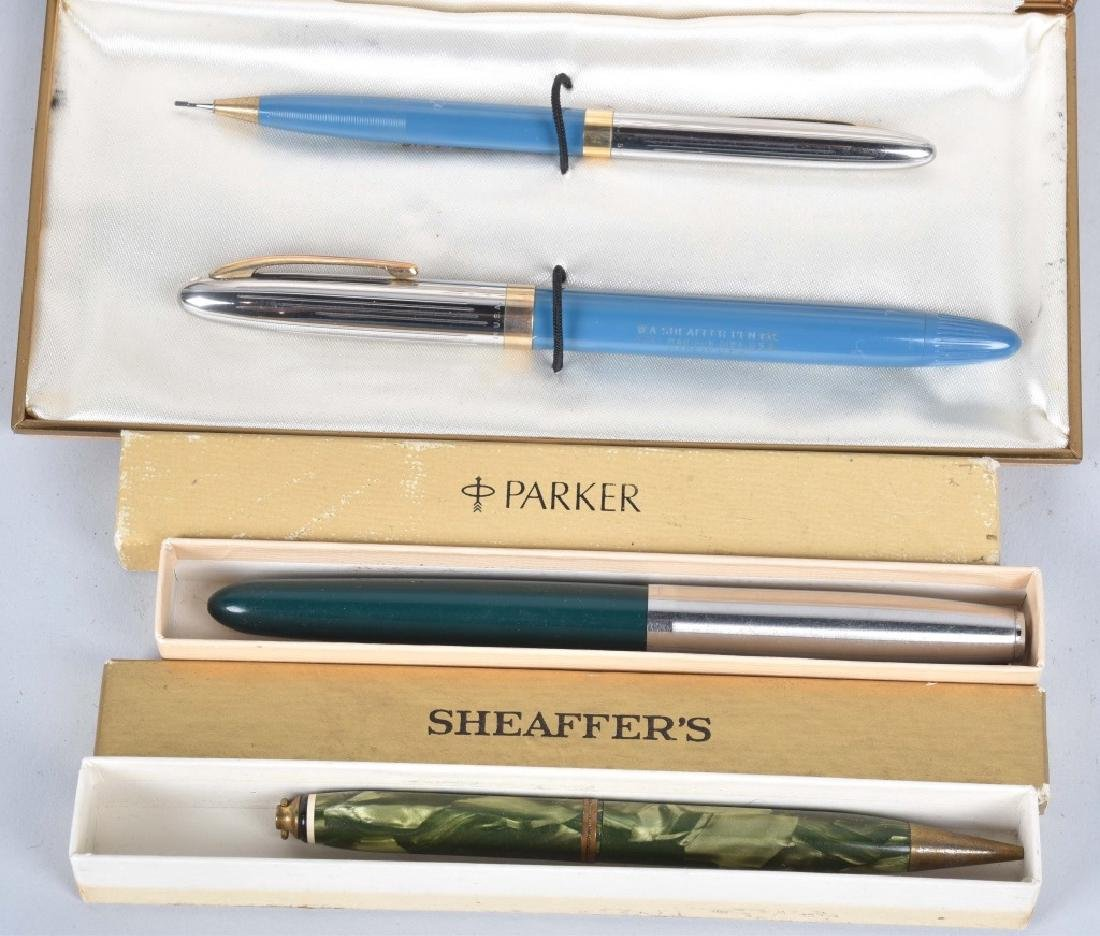 VINTAGE PENS in BOXES, PARKER & MORE - 2