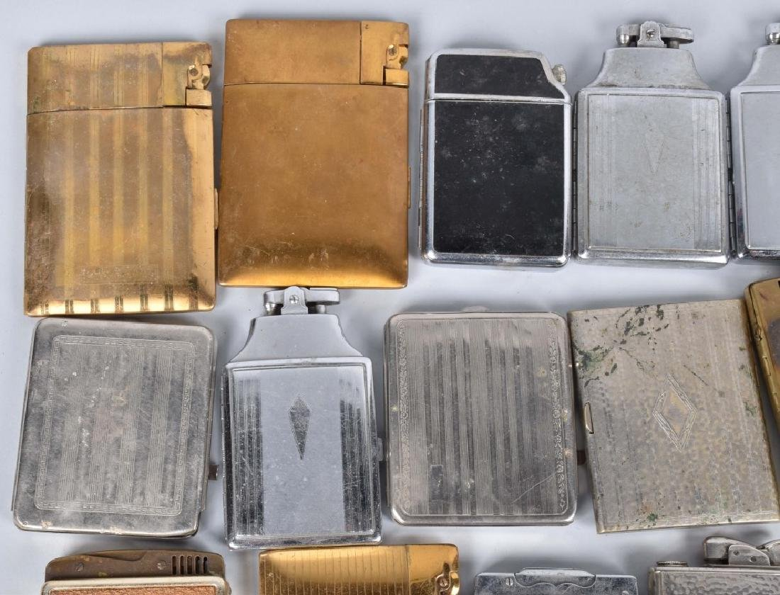 20-VINTAGE CIGARETTE CASES, SOME with LIGHTERS - 2