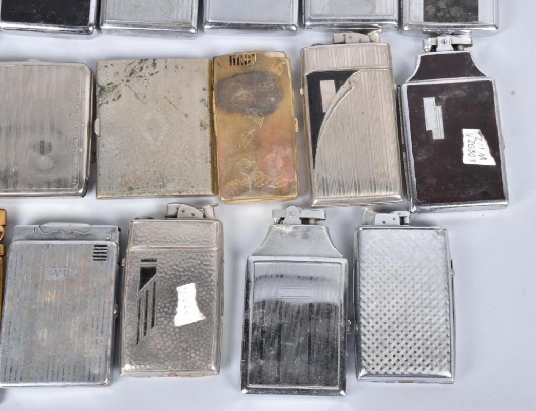 20-VINTAGE CIGARETTE CASES, SOME with LIGHTERS - 3