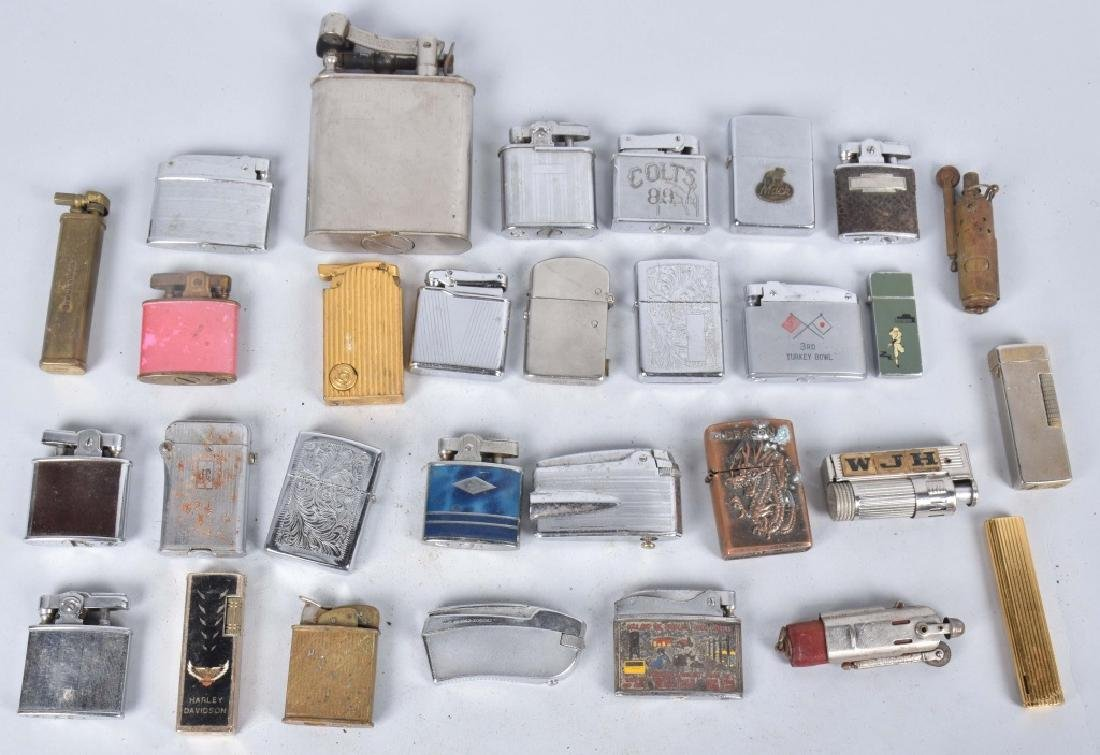 30-VINTAGE CIGARETTE LIGHTERS