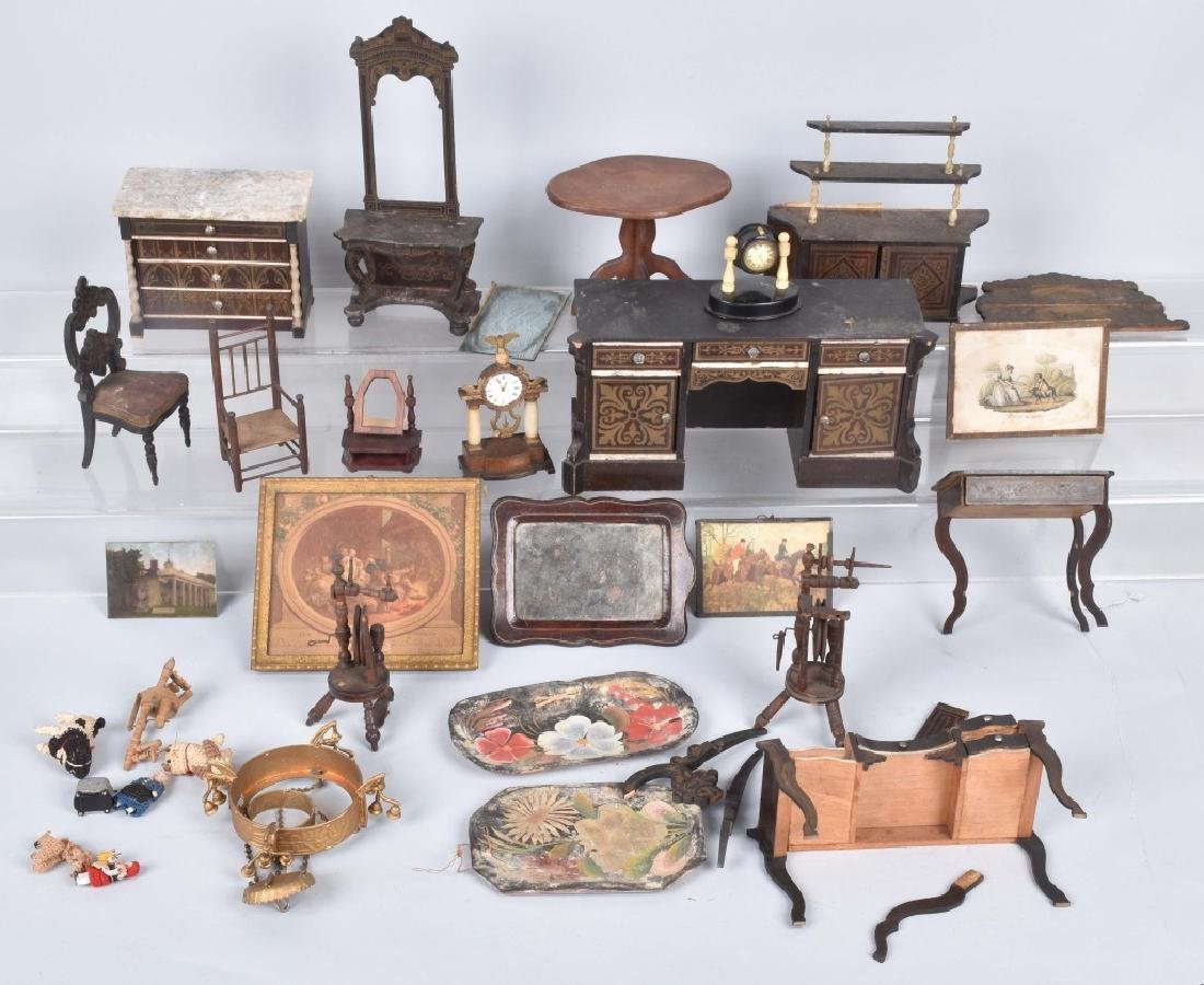 VINTAGE DOLL HOUSE MINIATURES