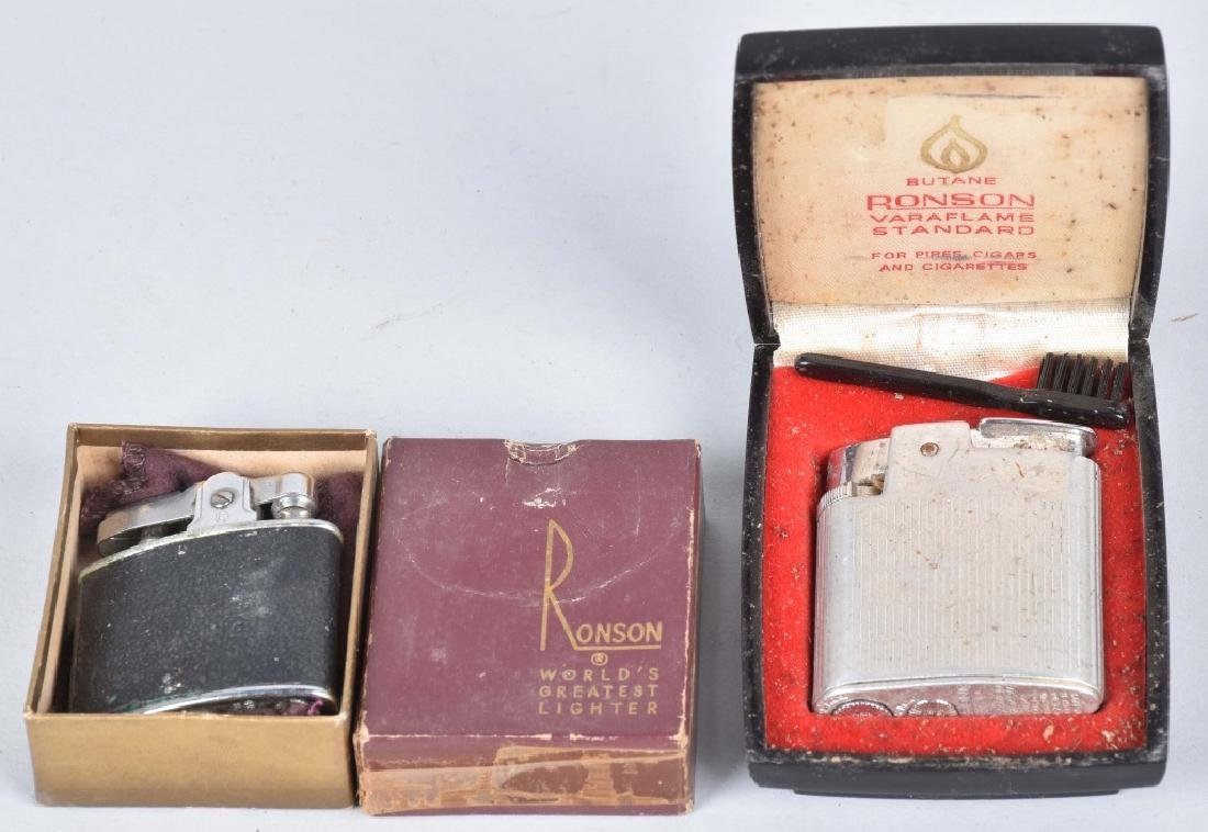 VINTAGE ADVERTISING LIGHTERS, WW1, CASES & MORE - 5