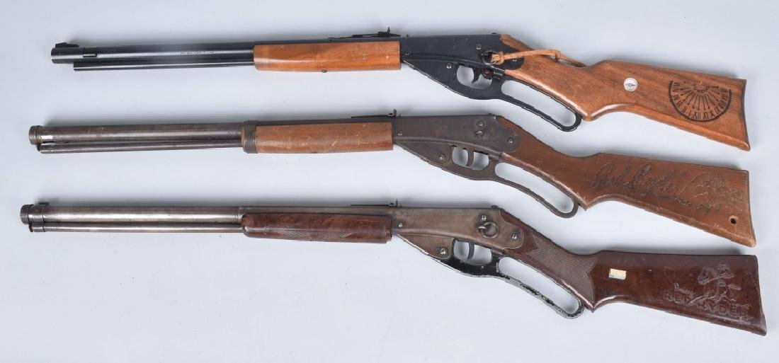 5-VINTAGE DAISY RED RYDER BB AIR RIFLES - 2