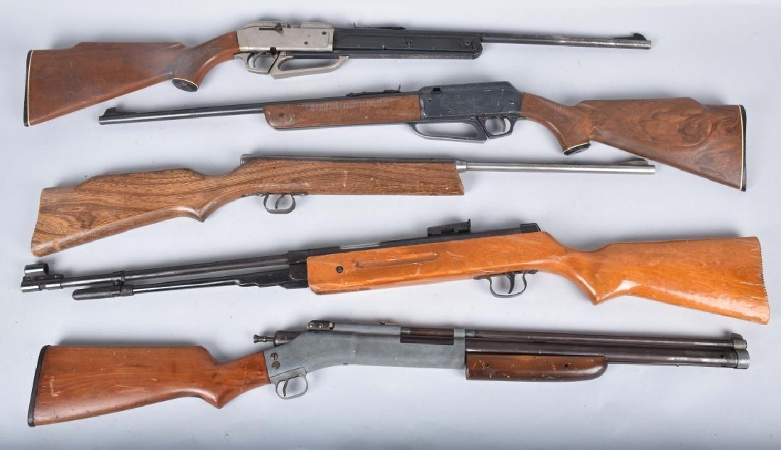5-DAISY and CROSSMAN PELLET AIR GUNS