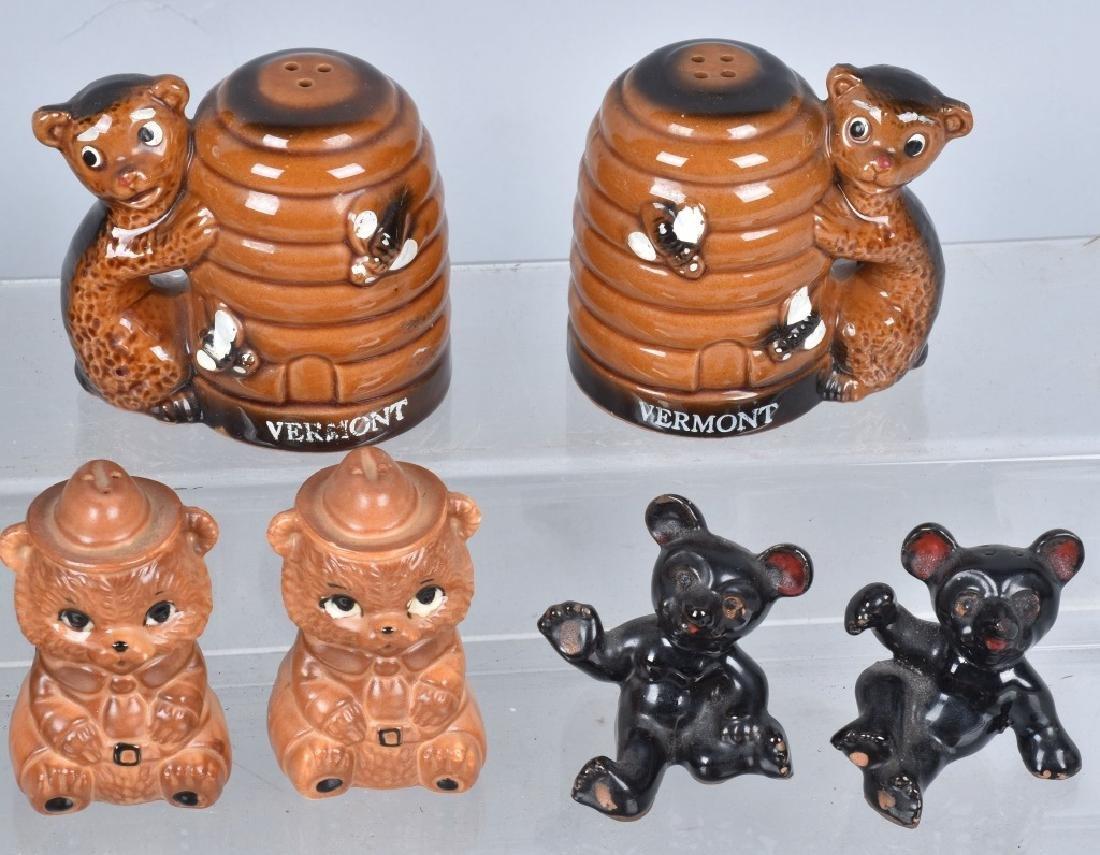 20-CERAMIC TEDDY BEAR and BEAR S & P SHAKERS - 3