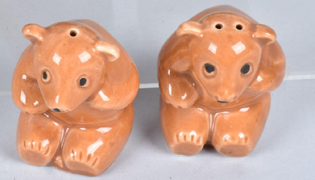 20-CERAMIC TEDDY BEAR and BEAR S & P SHAKERS - 4