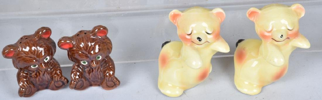 20-CERAMIC TEDDY BEAR and BEAR S & P SHAKERS - 5
