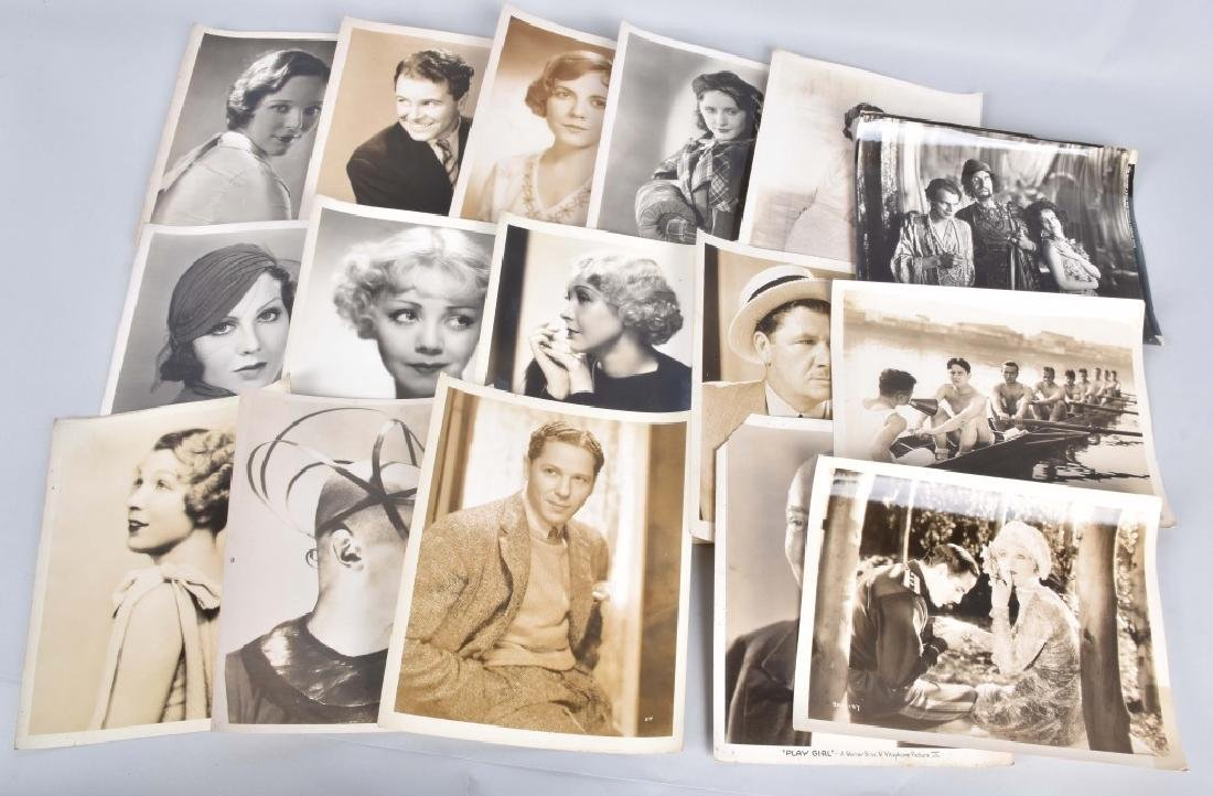 16-VINTAGE MOVIE STILL PHOTOS