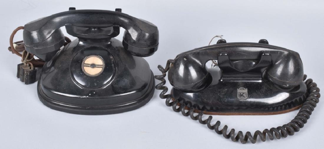 2-VINTAGE TELEPHONES