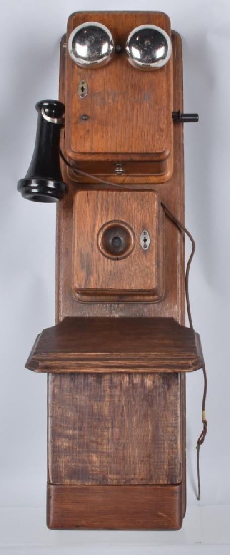 AMERICAN BELL TELEPHONE THREE BOX TELEPHONE