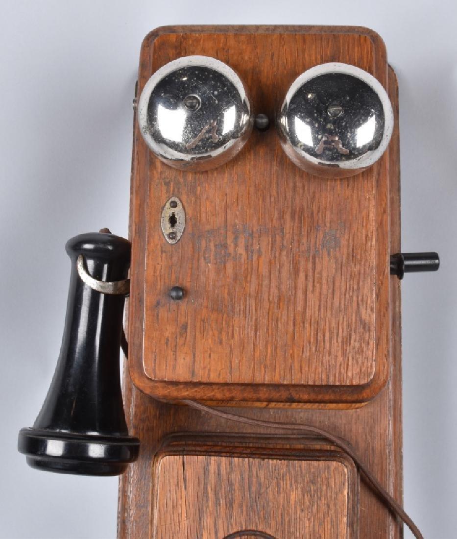 AMERICAN BELL TELEPHONE THREE BOX TELEPHONE - 2