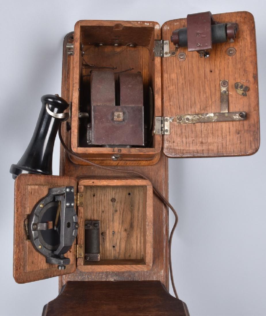 AMERICAN BELL TELEPHONE THREE BOX TELEPHONE - 5