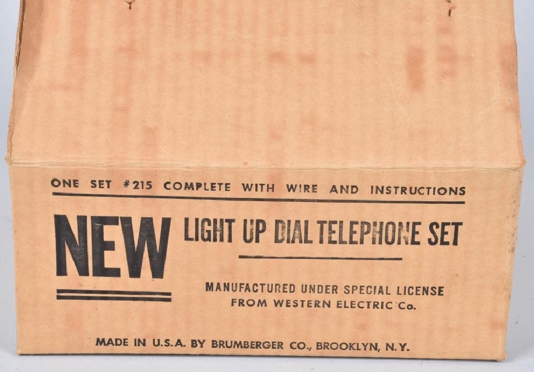 BRUMBERGER LIGHT PINK PRINCESS TELEPHONE SET - 4