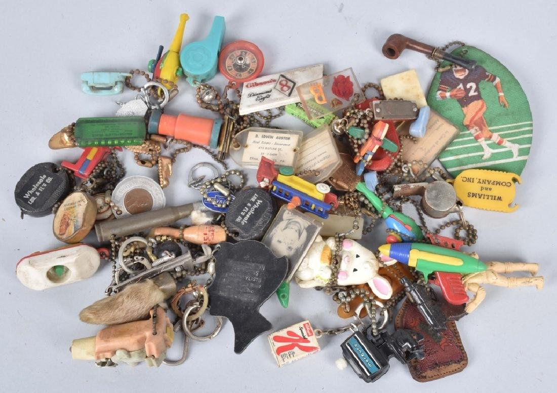 LARGE LOT of KEY FOBS, PONTIAC, PUZZLES & MORE