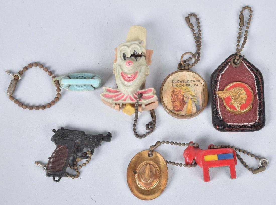 LARGE LOT of KEY FOBS, PONTIAC, PUZZLES & MORE - 2
