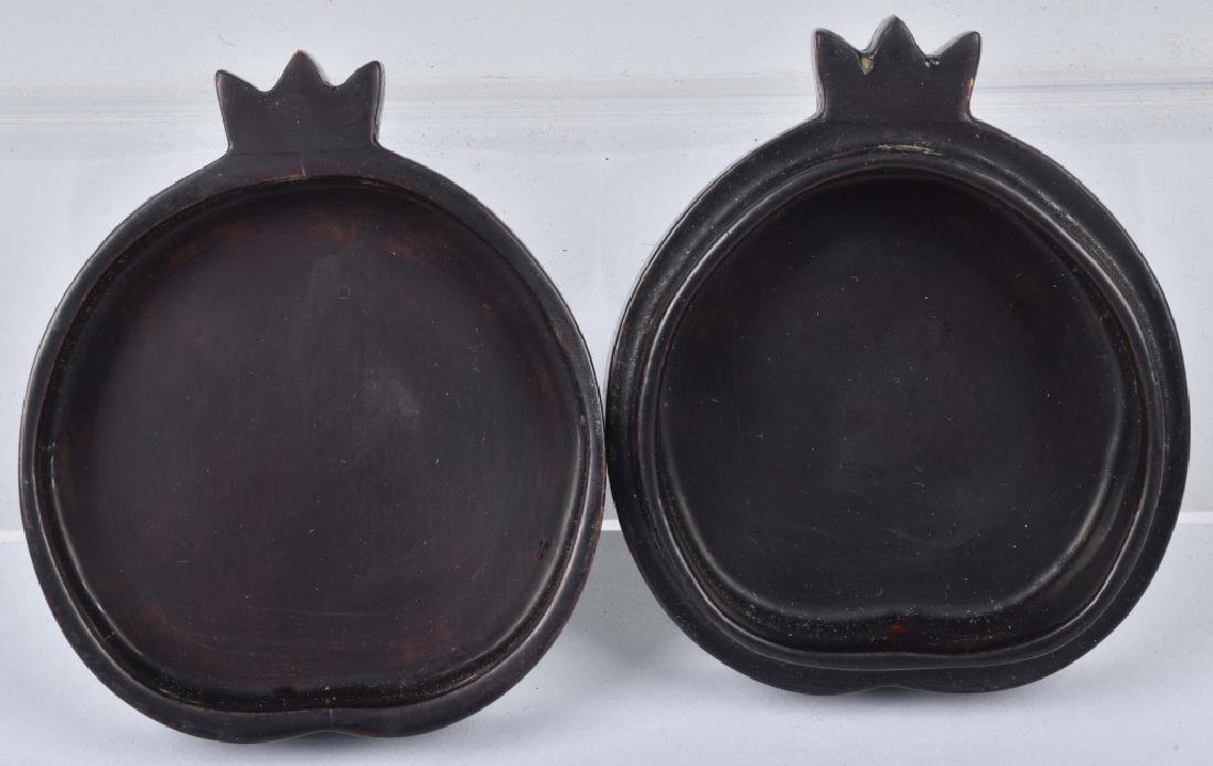 CHINESE BLACK LACQUERED BOX WITH SHELL INLAYS - 5
