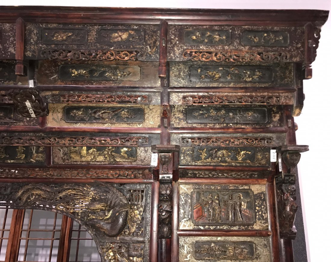 MUSEUM QUALITY CHINESE WEDDING BED - 3