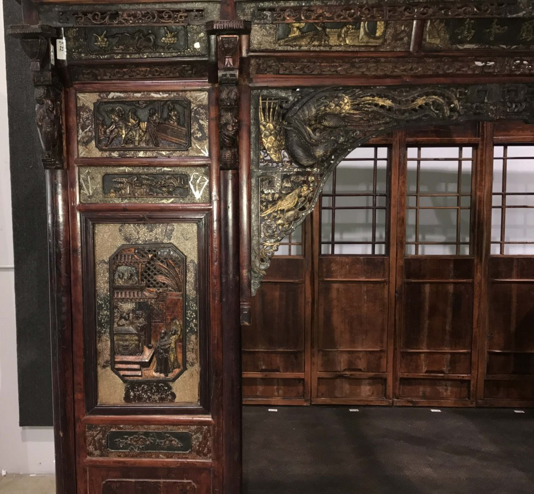 MUSEUM QUALITY CHINESE WEDDING BED - 4