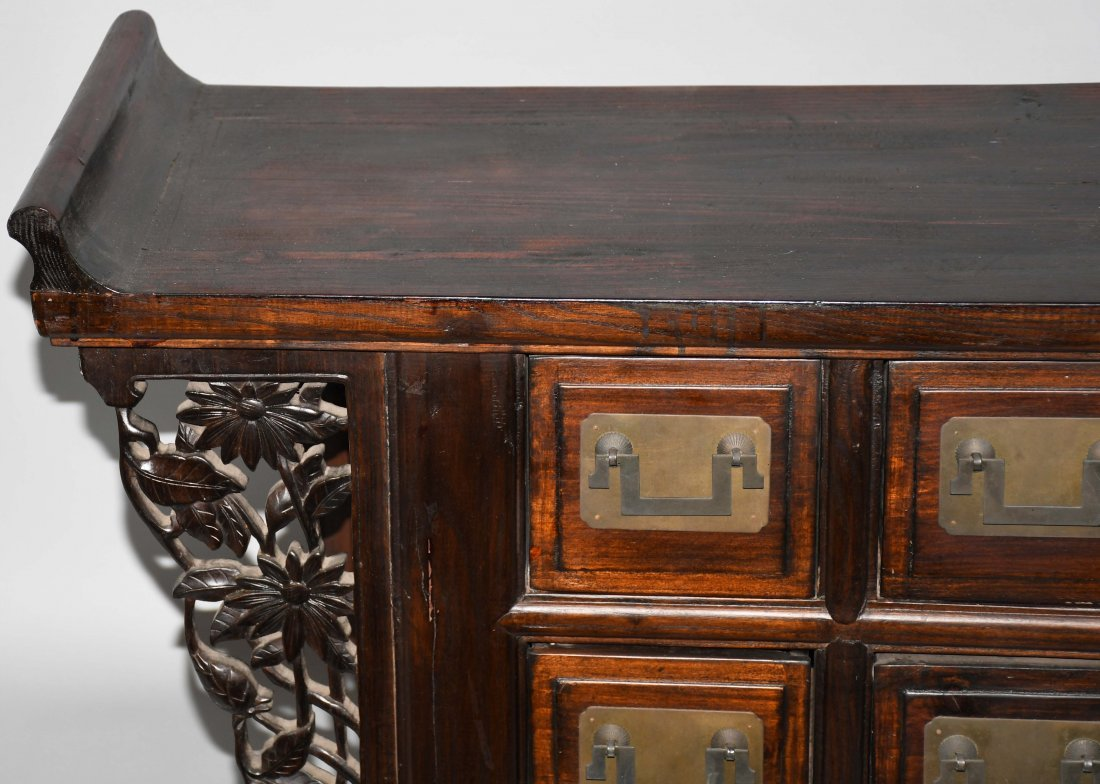CHINESE STYLE APOTHECARY CABINET - 2