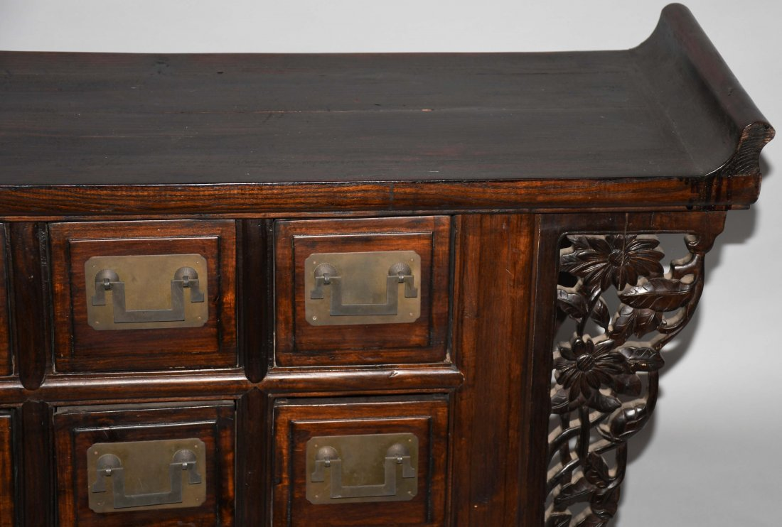 CHINESE STYLE APOTHECARY CABINET - 3