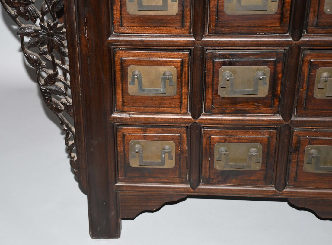 CHINESE STYLE APOTHECARY CABINET - 4