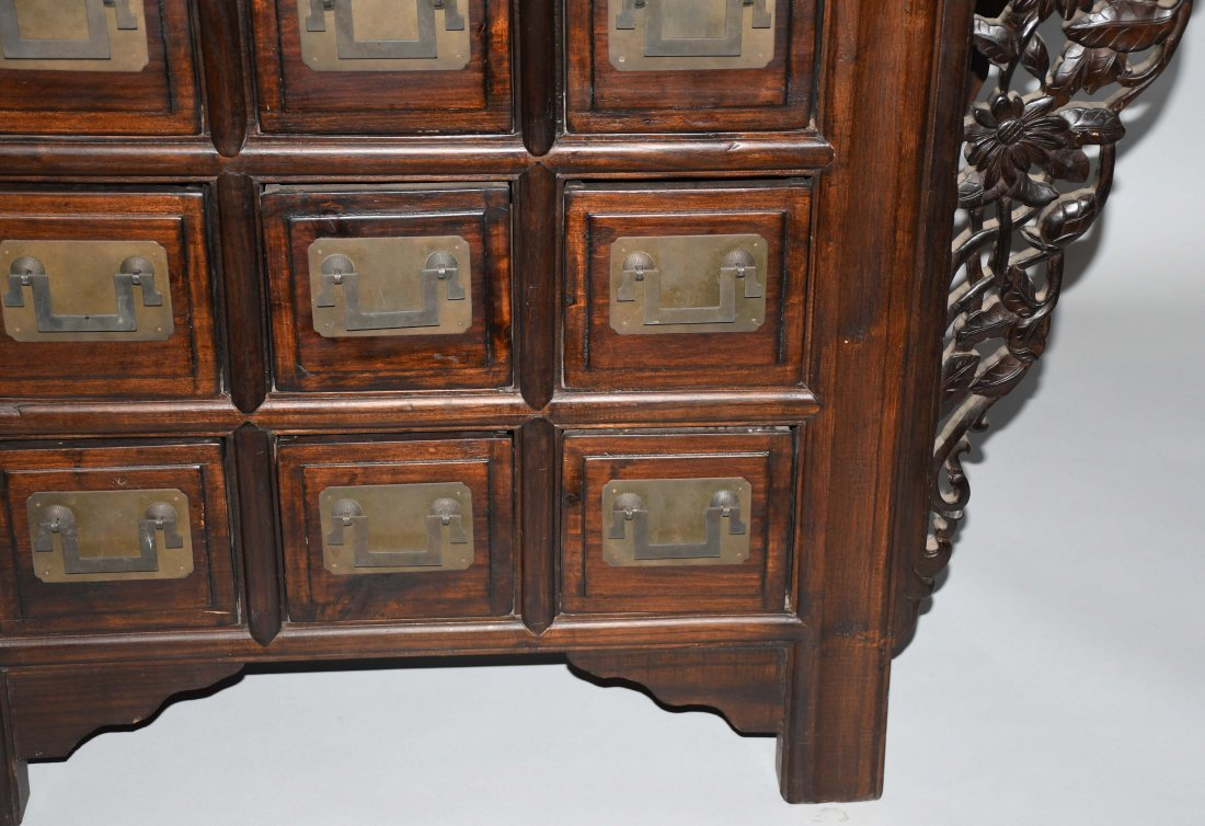 CHINESE STYLE APOTHECARY CABINET - 5